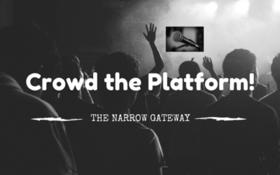 """CROWD THE PLATFORM"" – Why we do this and how YOU can #grabthemic or #grabthepen and #crowdtheplatform"