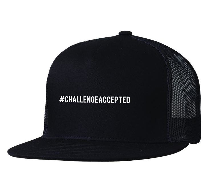 "AND JESUS POSTED, ""#CHALLENGEACCEPTED"""