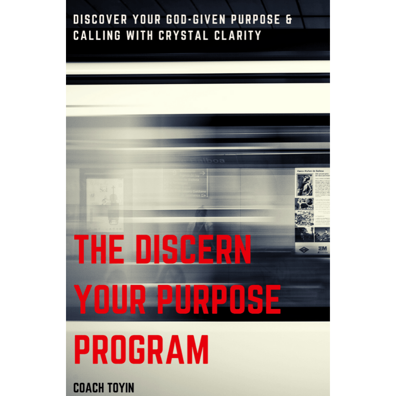 Discern your purpose with coach toyin