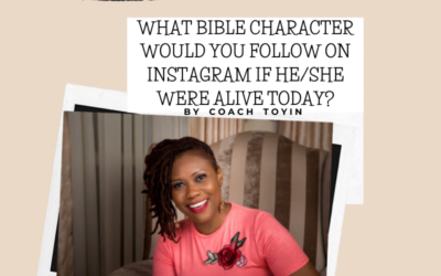 What Bible Character Would You Follow On Instagram If He/She Were Alive Today